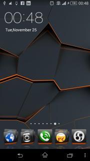 Cracked Blocks Dark Android Theme Mobile Theme