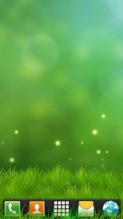 Abstract Grass Green Android Theme Mobile Theme