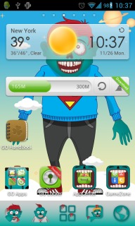 Zombies Attack Android Theme Mobile Theme