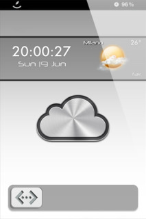 LS ICloud Weather IPhone Theme Mobile Theme