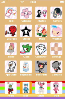 Cute Kitties ICons IPhone Theme Mobile Theme