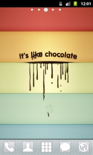 Its Like Chocolate Apk Theme Mobile Theme