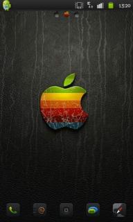 Colorful Apple 3D Apk Theme Mobile Theme