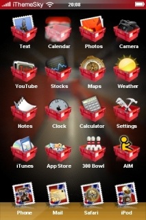 Bukets ICons IPhone Theme Mobile Theme
