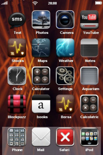 Passion Red Background IPhone Theme Mobile Theme