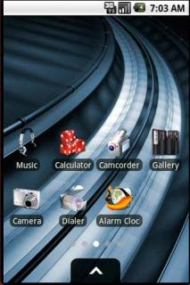 3D Digital Machine Android Theme Mobile Theme