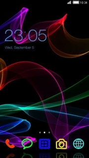 Color Strips Lines Time Android Theme Mobile Theme