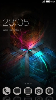Abstract Color Digital Android Theme Mobile Theme
