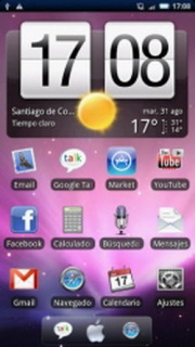 Purple Sky & Stars ICons Android Theme Mobile Theme