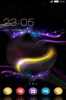 Abstract Colors Stripes Lines Android Theme Mobile Theme