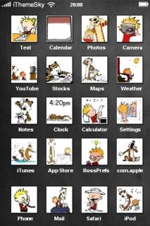 Kids Funs Styles IPhone Theme Mobile Theme