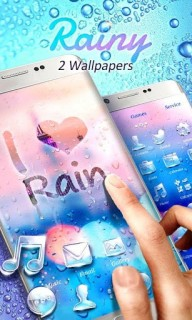 Love Rain Mobile Smartphone Android Theme Mobile Theme