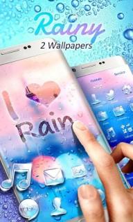 Love Rain Mobile Smartphone Android Theme Mobile Theme