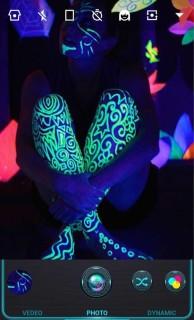 Neon Man Art 3D Android Theme Mobile Theme