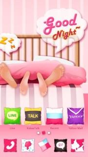 Sleeping Good Night Android Theme Mobile Theme