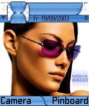 Elegance Blue Theme Mobile Theme