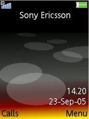 Black Pearl Sony Ericsson W900 Theme Mobile Theme