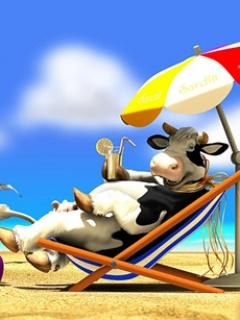 Happy Cow Mobile Theme