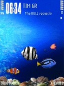 Aquarium Mobile Theme