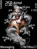Tiger N Dragon Theme Mobile Theme