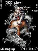 Tiger N Dragon Theme Mobile Theme