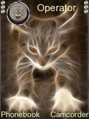 Fire Cat Nokia Theme Mobile Theme