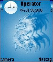 Bluedragon Nokia Theme  Mobile Theme