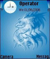 Bluedragon Nokia Theme Mobile Theme