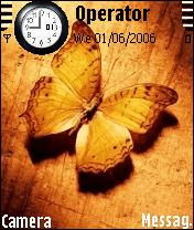 Butterfly Nokia Theme Mobile Theme