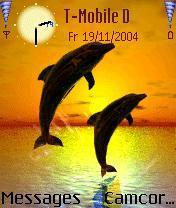 Dolphins Nokia Theme Mobile Theme