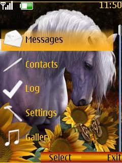 Horse Nokia Theme Mobile Theme