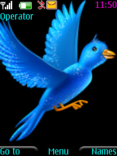 Blue Bird Nokia Theme Mobile Theme