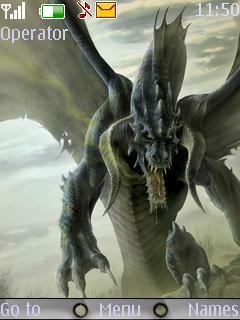 Dragon Nokia New Theme Mobile Theme