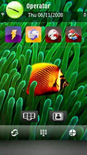 Butterfly Fish Nokia Theme Mobile Theme
