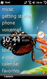 Butterfly Htc Theme Mobile Theme