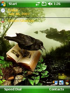 Crow Htc Theme Mobile Theme