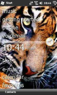 Tiger Theme Mobile Theme