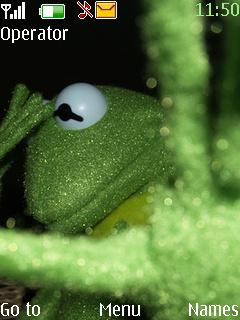 Kermit Frog Mobile Theme