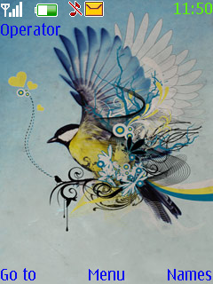 Sparrow Mobile Theme