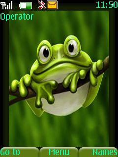 Frog Mobile Theme