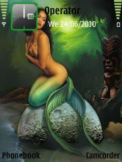 Mermaid Mobile Theme