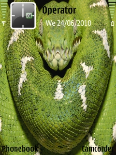 Big_green_Boa Mobile Theme