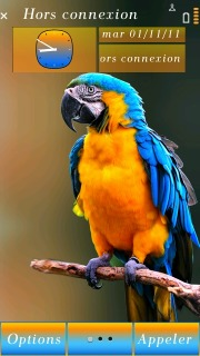 Parrot Mobile Theme