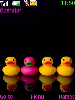 Little Ducks Mobile Theme