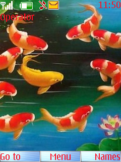 Fishes Mobile Theme