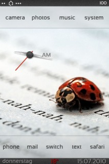 DBar Ladybug For IPhone Theme Mobile Theme