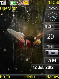 Fly Insects Mobile Theme