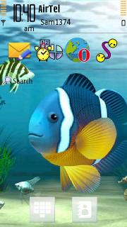 Aquarium Cute Fish Nokia Theme Mobile Theme