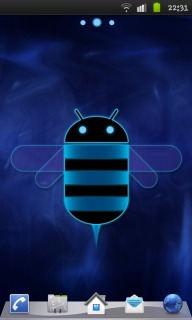 Blue Honeycomb Android Theme Mobile Theme