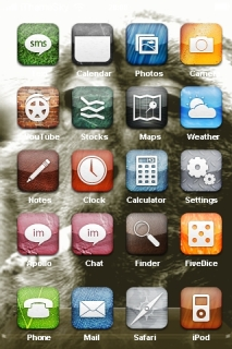 Smoking Monkey Funny IPhone Theme Mobile Theme